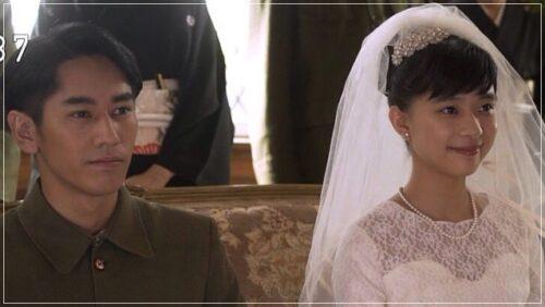 芳根京子 べっぴんさん結婚式
